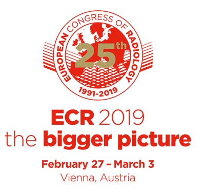 European Congress of Radiology 2019 - Special fee for Medical Physicists