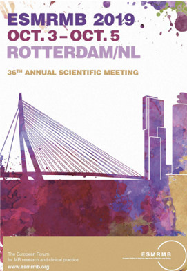 European Society for Magnetic Resonance in Medicine and Biology - 36 Annual Scientific Meeting