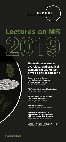 Lectures on MR 2019 - ESMRMB