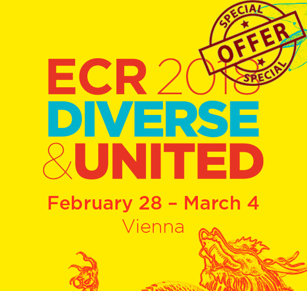 ECR 2018: Special offer only for Medical Physicists!