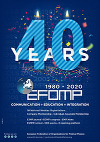 40 years EFOMP Anniversery