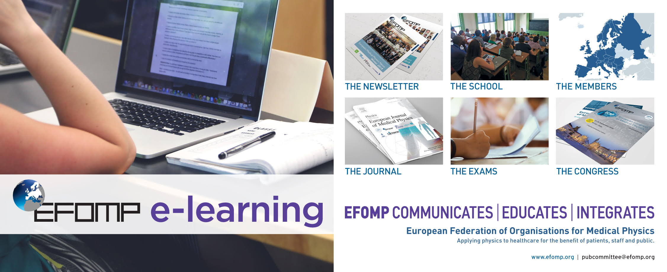 EFOMP e-learning platform
