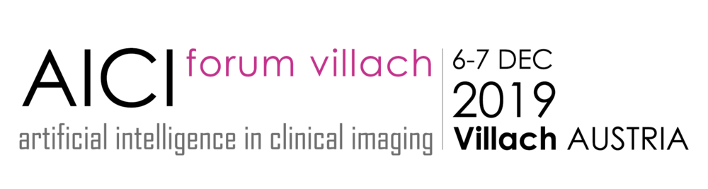 1st AICI Forum Villach - Artificial Intelligence in Clinical Imaging
